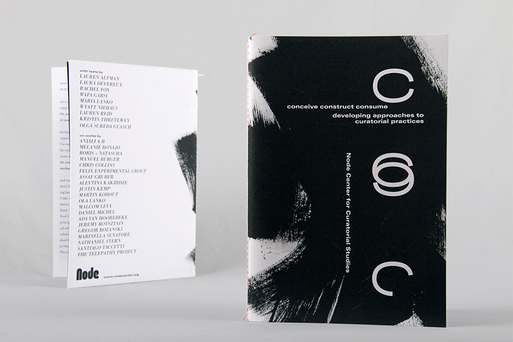 Conceive Construct Consume: Developing approaches to curatorial practices