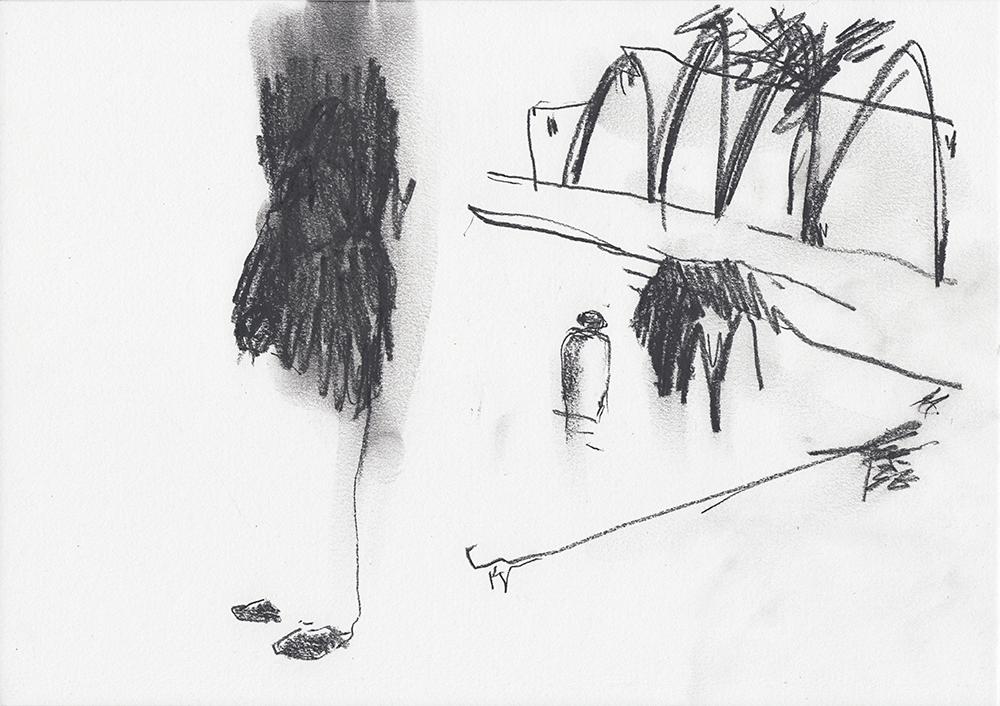 Brujo-hunting with dark gorilla in a pool